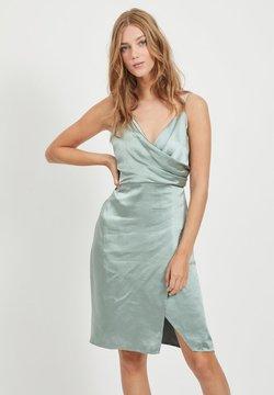Vila - Cocktailkleid/festliches Kleid - green milieu