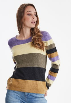 PULZ - PZZAHARA - Strickpullover - multi-coloured