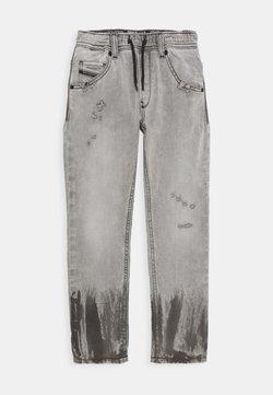 Diesel - KROOLEY - Jeans Slim Fit - denim nero