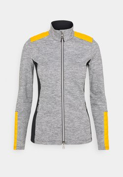 Kjus - WOMEN RADUN MIDLAYER JACKET - Fleecejacke - gold honey yellow