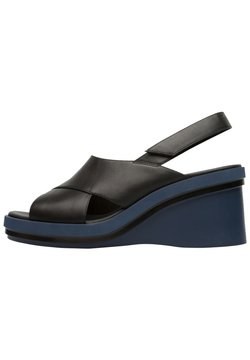 Camper - KYRA - Wedge sandals - schwarz