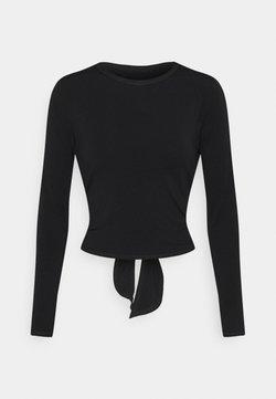 Onzie - TIE BACK - Camiseta de manga larga - black
