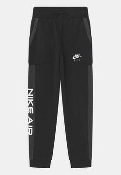 Nike Sportswear - AIR  - Jogginghose - black/dark smoke grey