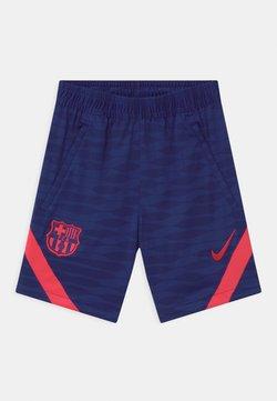 Nike Performance - FC BARCELONA UNISEX - Pantalón corto de deporte - deep royal blue/light fusion red
