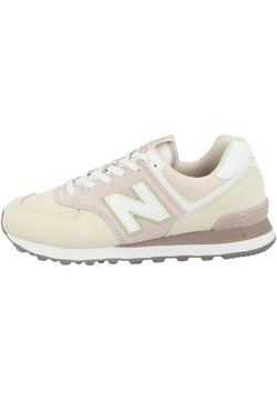 New Balance - WL574 - Matalavartiset tennarit - space pink-winter sky (wl574lbl)