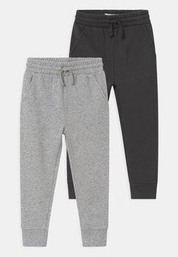 Cotton On - HERITAGE 2 PACK - Pantaloni sportivi - phantom/grey