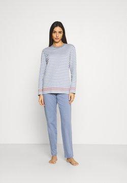 Schiesser - Pyjama - jeansblau