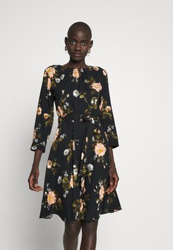 Dorothy Perkins Tall - FLORAL PRINT DRESS - Robe d'été - black