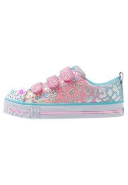 Skechers - TWINKLE LITE - Sneaker low - pink/multicolor/silver