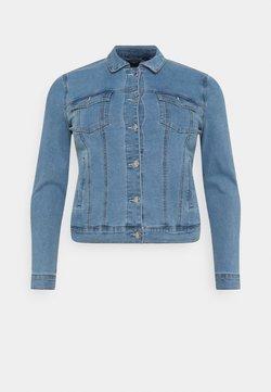Vero Moda Curve - VMHOT SOYA JACKET - Jeansjacke - light blue denim