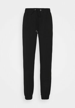 Kaffe - DANA LINDA PANTS - Jogginghose - black deep