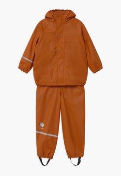 CeLaVi - RAINWEAR SET UNISEX - Pantalon de pluie - pumpkin spice