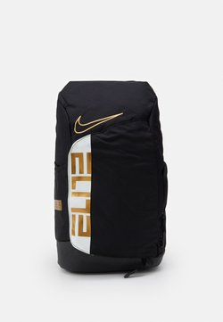 Nike Performance - HOOPS ELITE PRO BACK PACK - Reppu - black/white/metallic gold