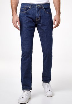 Pierre Cardin - ANTIBES - Slim fit jeans - mid blue rinsed