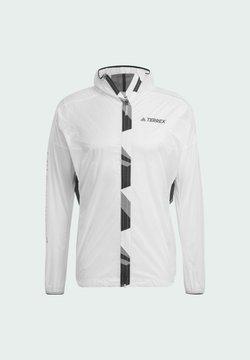 adidas Performance - TERREX AGRAVIC PRO WIND.RDY  - Cortaviento - white