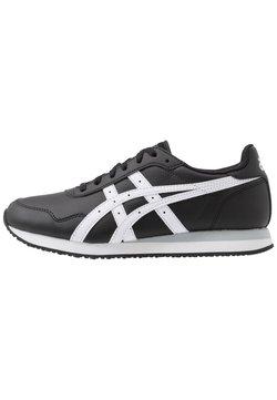 ASICS SportStyle - TIGER RUNNER - Sneaker low - black/white