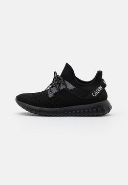 Calvin Klein Jeans - RONETTE - Sneakers laag - black/silver