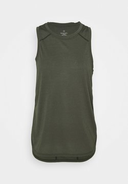 Sweaty Betty - PACESETTER RUNNING VEST - Top - olive
