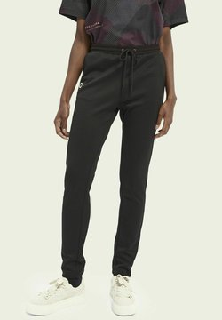Scotch & Soda - SLIM-LEG - Jogginghose - black