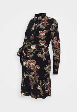 Pieces Maternity - PCMBRENNA DRESS - Paitamekko - black