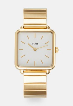 Cluse - LA TETRAGONE - Zegarek - gold-coloured/white