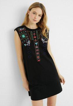 Desigual - Sukienka z dżerseju - black