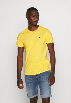 Tommy Jeans - ESSENTIAL JASPE TEE - T-paita - star fruit yellow