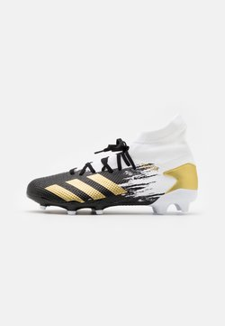 adidas Performance - PREDATOR 20.3 FOOTBALL BOOTS FIRM GROUND - Moulded stud football boots - footwera white/gold metallic/core black