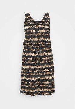 Simply Be - SHORT DRESS - Jerseykleid - brown