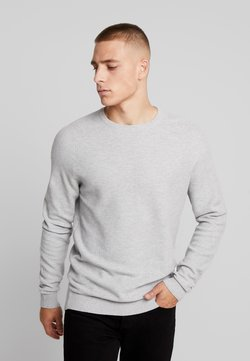 Esprit - HONEYCOMB - Strickpullover - light grey