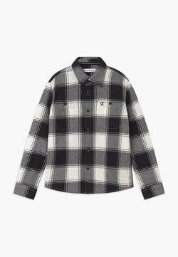 Calvin Klein Jeans - WINTER CHECK - Hemd - black