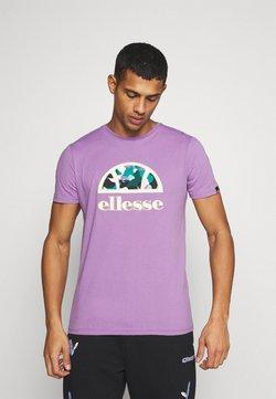Ellesse - HEBBER - Camiseta estampada - lilac
