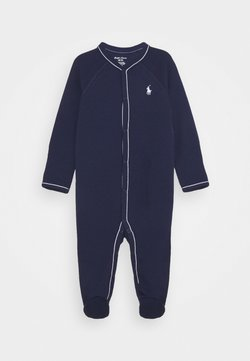 Polo Ralph Lauren - SOLID ONE PIECE COVERALL - Grenouillère - french navy