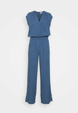 s.Oliver - OVERALL LANG - Jumpsuit - dark blue
