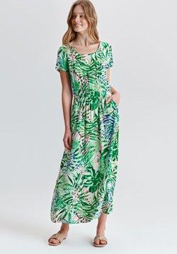 TATUUM - OLIA - Sukienka letnia - beige/green