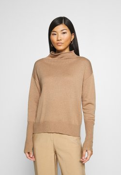 Opus - PAULY - Sweter - creamy camel