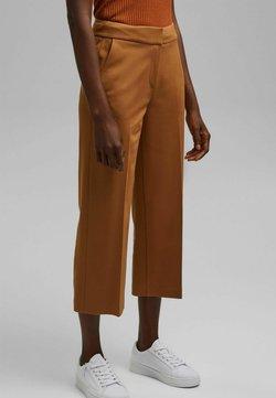 Esprit Collection - CULOTTE - Pantalon classique - caramel