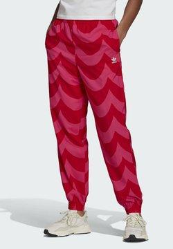 adidas Originals - Spodnie treningowe - vivid red/team real magenta