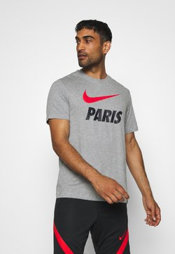 Nike Performance - PARIS ST GERMAIN TEE GROUND - Klubtrøjer - dark grey heather