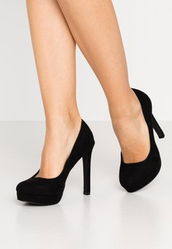 Even&Odd Wide Fit - Escarpins à talons hauts - black