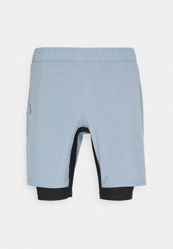 Salomon - TWINSKIN - Pantalones montañeros cortos - ashley blue