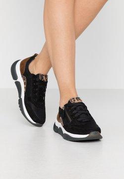 Gabor Comfort - ROLLING SOFT  - Sneaker low - schwarz/savanne/whisky