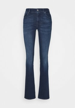 7 for all mankind - EXCLUSIVITY - Bootcut jeans - dark blue