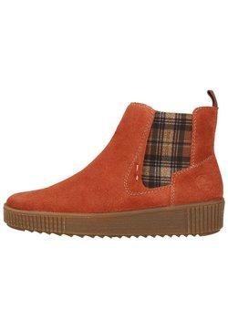 Rieker - Ankle Boot - ziegel/whisky-karo