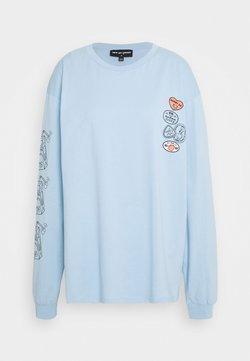 NEW girl ORDER - REFRESH JUICE TEE - Pitkähihainen paita - blue