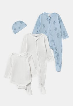 Cotton On - BUNDLE SET UNISEX - Mütze - white/water blue