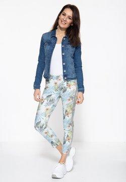 Amor, Trust & Truth - Jeans Slim Fit - gemustert