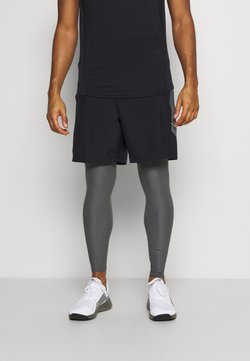 Under Armour - LEGGINGS - Tights - carbon heather