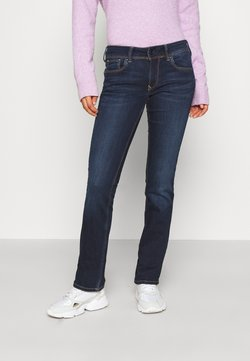 Pepe Jeans - HOLLY - Jean droit - dark-blue denim