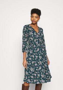 Vila - VILITIN MIDI DRESS - Jerseyklänning - ponderosa pine